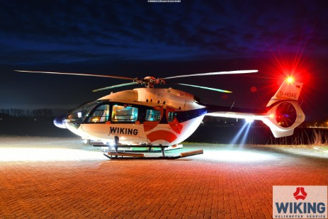 WIKING H145 at night